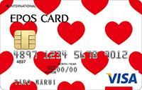 エポスデザインカード第7位 No208:Red Heart